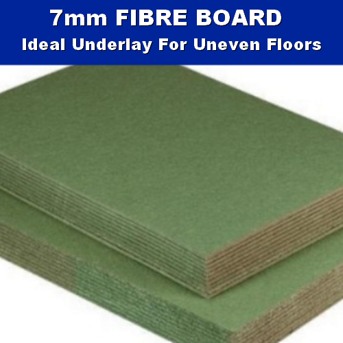 7mm Fibre Board Laminate Wood Underlay - 9.6m2