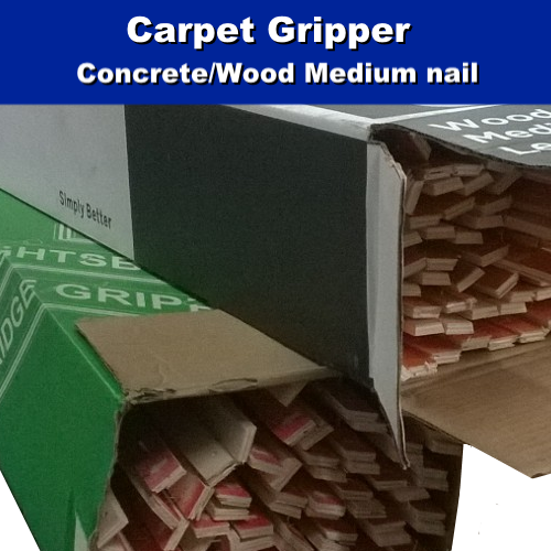 Concrete Wood Carpet Gripper HALF BOX - 75m