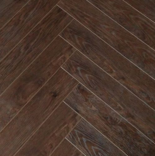 Vintage Herringbone - Chocolate Walnut 12mm - 1.836m2