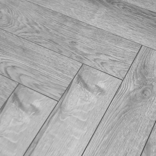 Vintage Herringbone Grey Oak 12mm