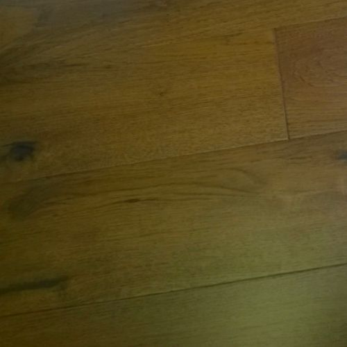 14mm ENGINEERED Wood Dark Stained Lacquered Oak - 1.20m2