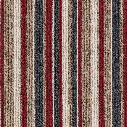 Gala Berber Stripes - Red Lines