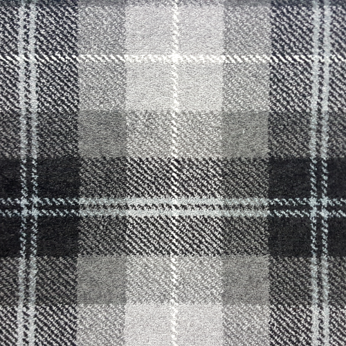 Wilton - Grey Tartan Carpet