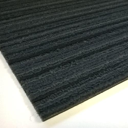 Taurus Stripe Dark Blue Commercial Carpet Tiles 5m2 Flooring Trade Warehouse
