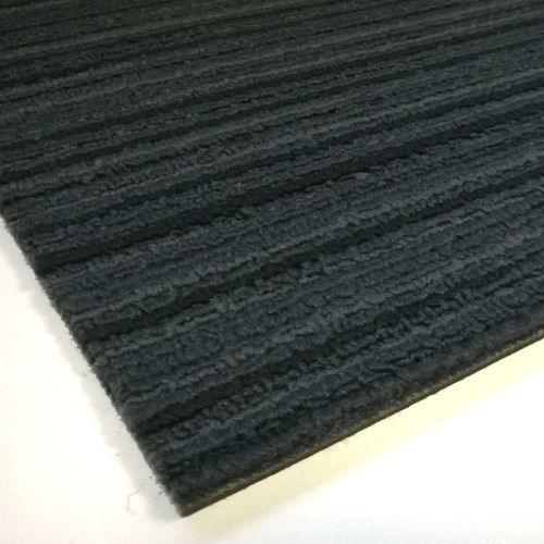 TAURUS Stripe Dark Blue Commercial Carpet Tiles 5m2