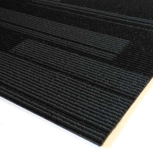 IMPRESSIONS Stripe Twilight 1m Long Carpet Tiles 5m2