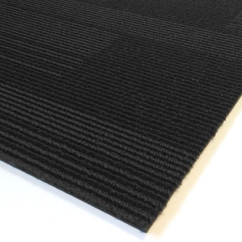 IMPRESSIONS Stripe Coal 1m Long Carpet Tiles 5m2