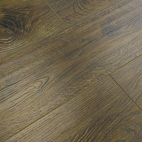 Vintage Embossed - Handscraped Oak Brown 12mm - 1.905m2 Packs