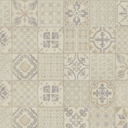 TARKETT Retro Starfloor Grey Beige Vinyl Tiles - 1.675m2
