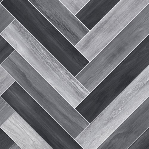 FTW Herringbone Cushion Floor - Ash Grey