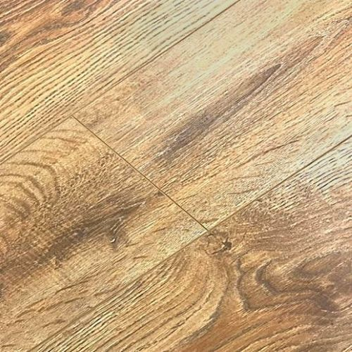 Vintage Embossed - Handscraped Oak Bright 12mm - 1.905m2 Packs