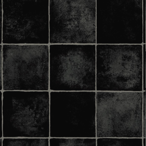 CFS Cushion Floor - FIJI Black Charcoal Tiles