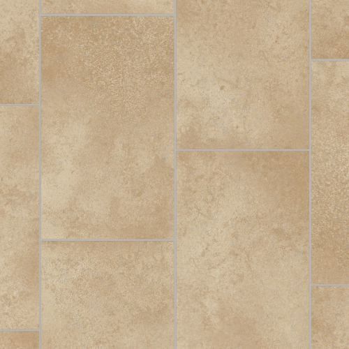 CFS Cushion Floor - FIJI Cream Beige Tiles